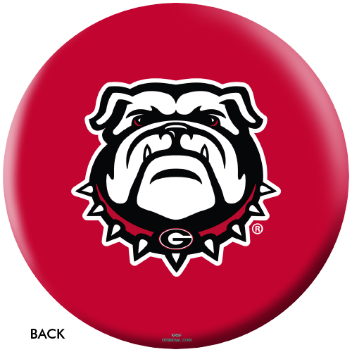 OTBB Georgia Bulldogs Bowling Ball