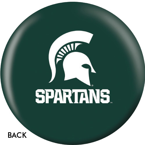 OTBB Michigan State Spartans Bowling Ball