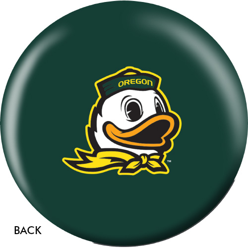 OTBB Oregon Ducks Bowling Ball