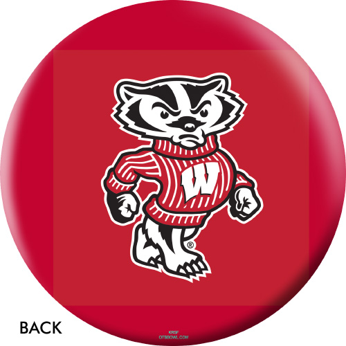 OTBB Wisconsin Badgers Bowling Ball