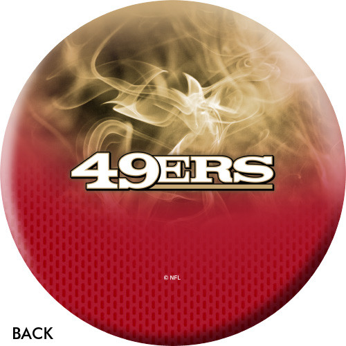 OTBB San Francisco 49ers Bowling Ball
