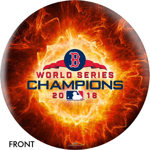 OTBB 2018 World Series Champion Boston Red Sox Bowling Ball