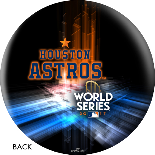 OTBB 2017 World Series Champion Houston Astros Bowling Ball