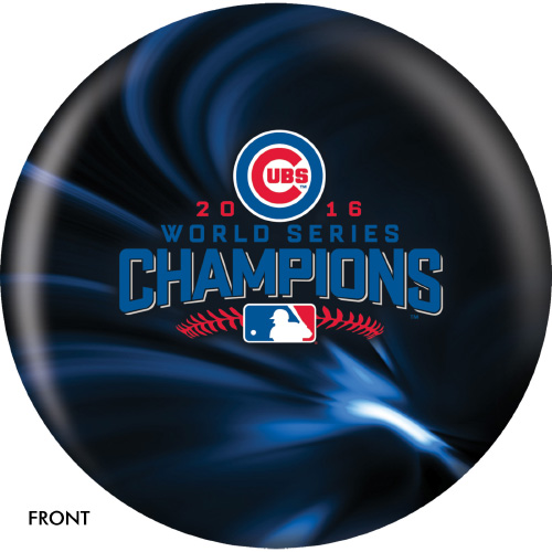 OTBB 2016 World Series Champion Chicago Cubs Bowling Ball