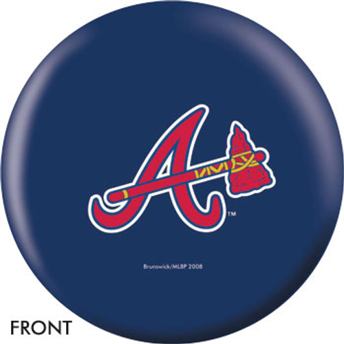 OTBB Atlanta Braves Bowling Ball