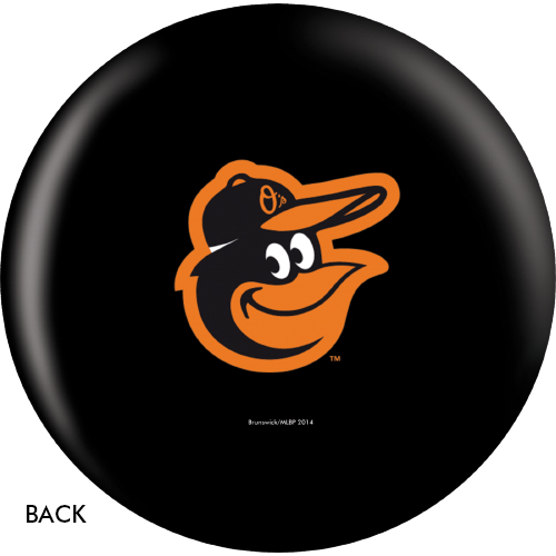 OTBB Baltimore Orioles Bowling Ball