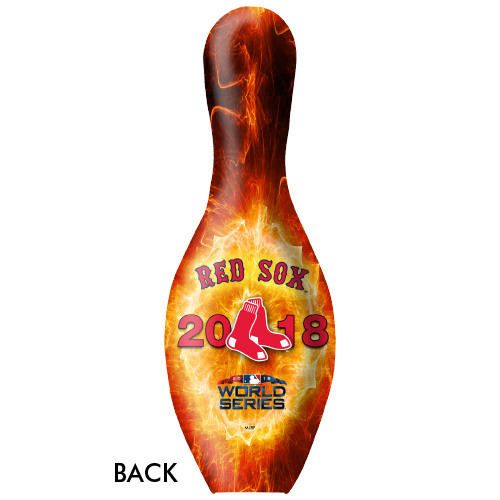 OTBB 2018 World Series Champion Boston Red Sox Bowling Pin