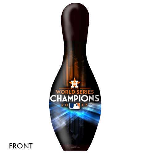 OTBB 2017 World Series Champion Houston Astros Bowling Pin