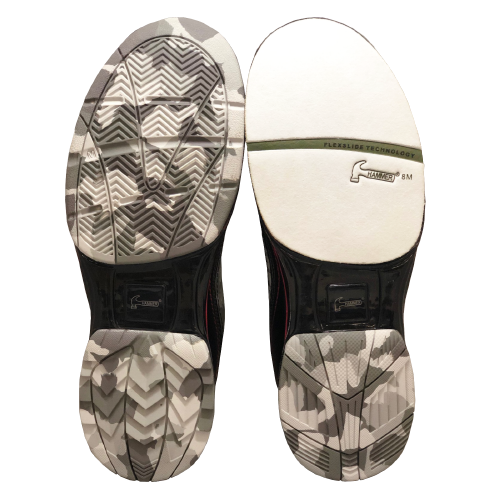 Hammer Force Mens Bowling Shoes Limited Edition Camo R.E.D. Right Handed With Free Shammy