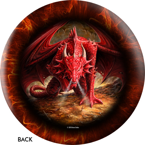 OTBB Dragonkin/Dragons Lair Bowling Ball