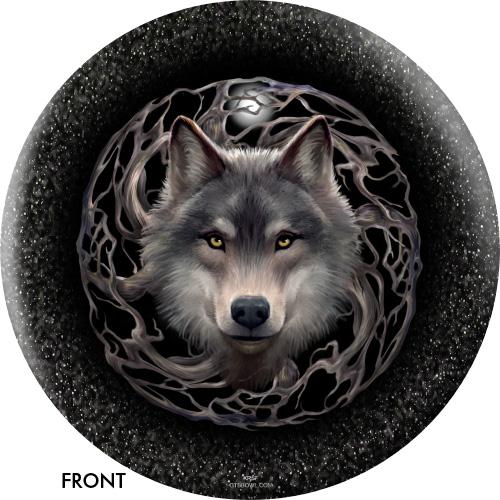 OTBB Wolf Trio/Night Forest Bowling Ball