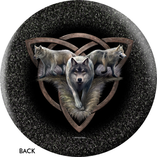OTBB Wolf Trio/Night Forest Bowling Ball