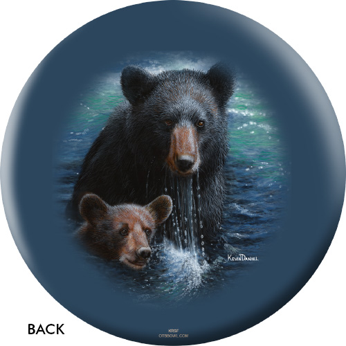 OTBB Bearly Swimming Bowling Ball