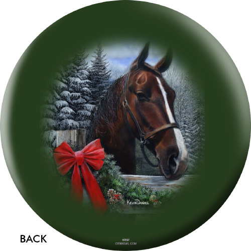 OTBB Holiday Horse Bowling Ball