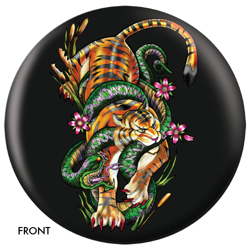 OTBB Tiger Snake Bowling Ball