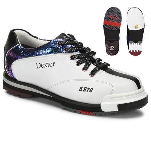 Dexter SST 8 Pro Womens Bowling Shoes White/Crackle/Black