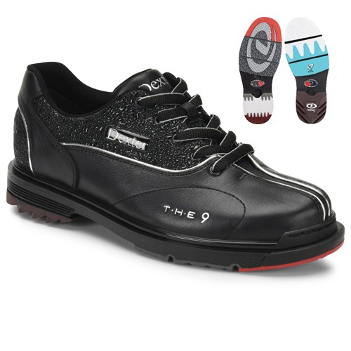 Dexter THE 9 HT Womens Bowling Shoes Black Jeweled