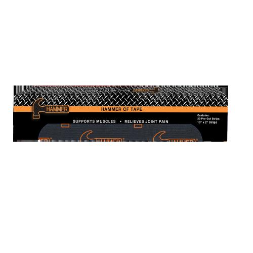 Hammer CF Tape - 20 Pre-Cut Strips Black