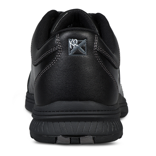KR Strikeforce H-7 Black Leather Bowling Shoe Heel