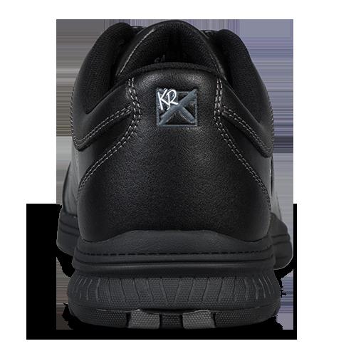 KR Strikeforce Legend Men's Bowling Shoes Black Leather Right Handed