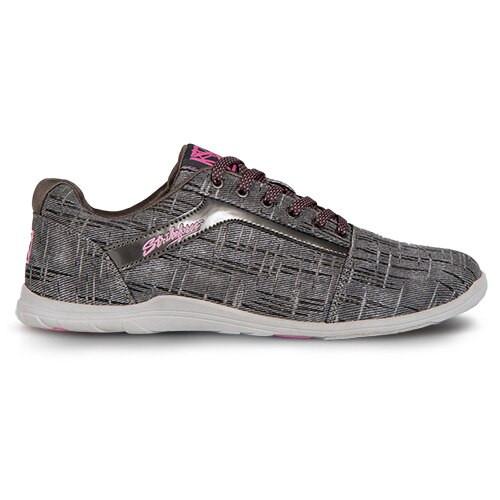 KR Strikeforce Womens Nova Lite Bowling Shoes Ash/Hot Pink WIDE
