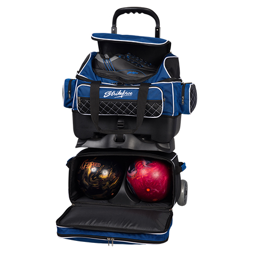 KR Strikeforce Royal Flush 4 Ball Roller Bag
