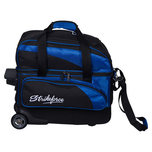KR Strikeforce Cruiser Locker 2 Ball Roller Bag Black/Royal