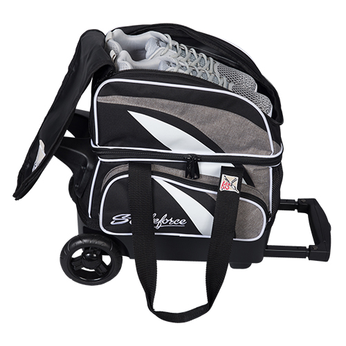 KR Strikeforce Cruiser 1 Ball Roller Bag Stone/Black