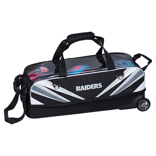 KR Strikeforce NFL Raiders Slim Triple Tote