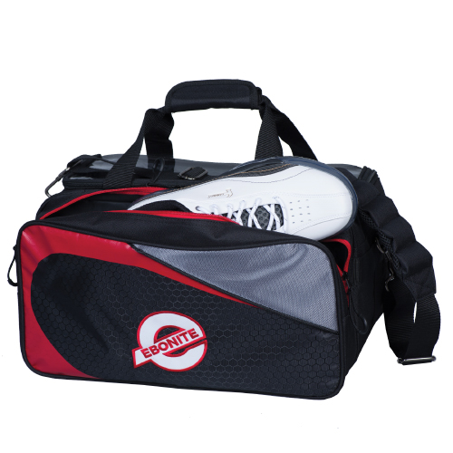 Ebonite Players Double Tote Bag Black/Red