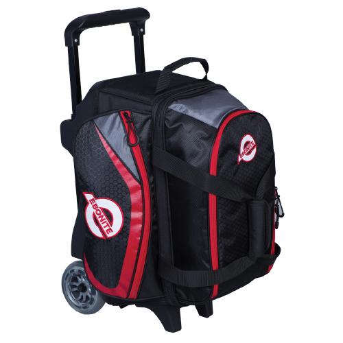 Ebonite Players 2 Ball Roller Bag Black/Red