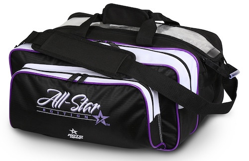 Roto Grip 2 Ball All-Star Edition Carryall Tote Purple