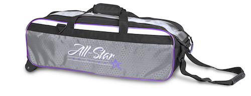 Roto Grip 3 Ball All-Star Edition Travel Tote Purple