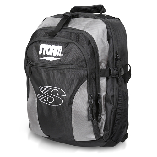 Storm Deluxe Backpack Black/Silver