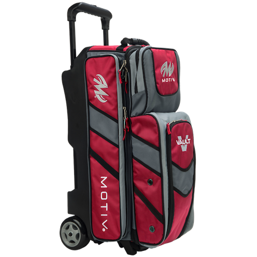 Motiv Vault 3 Ball Roller Bag Red