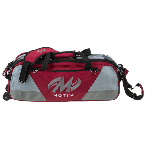Motiv Ballistix 3-Ball Tote Bag Red
