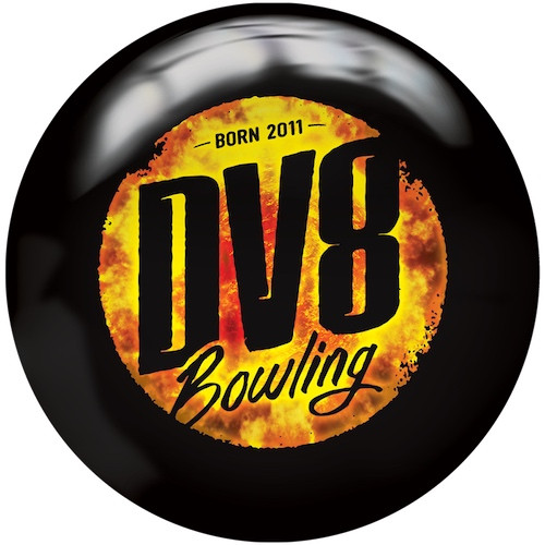 DV8 Scorcher Viz-A-Ball Bowling Ball Back