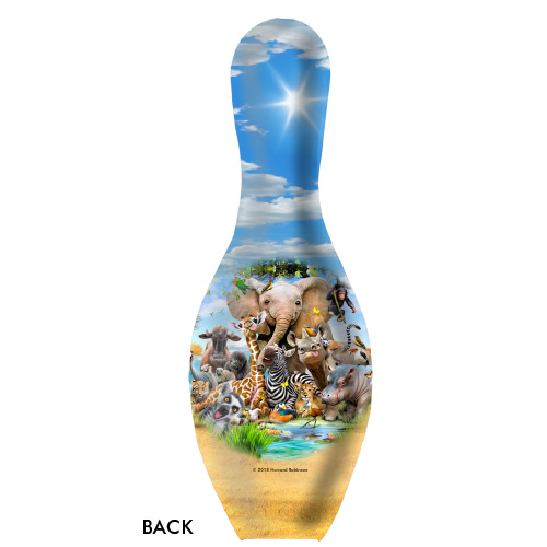 OTBB African Animals Selfie Bowling Pin