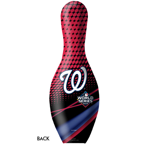 OTBB 2019 World Series Champion Washington Nationals Bowling Pin