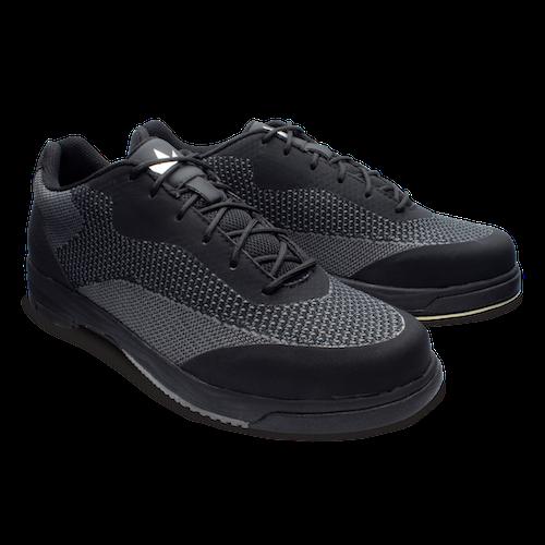 Brunswick Helix Comfort Knit Mens Bowling Shoes Black Right Hand
