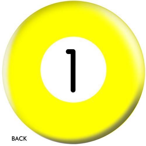 OTBB 1 Ball Yellow Bowling Ball