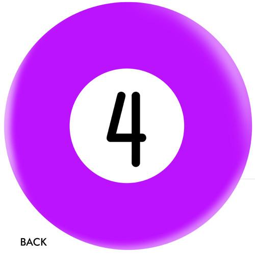 OTBB 4 Ball Purple Bowling Ball