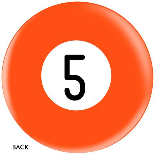 OTBB 5 Ball Orange Bowling Ball