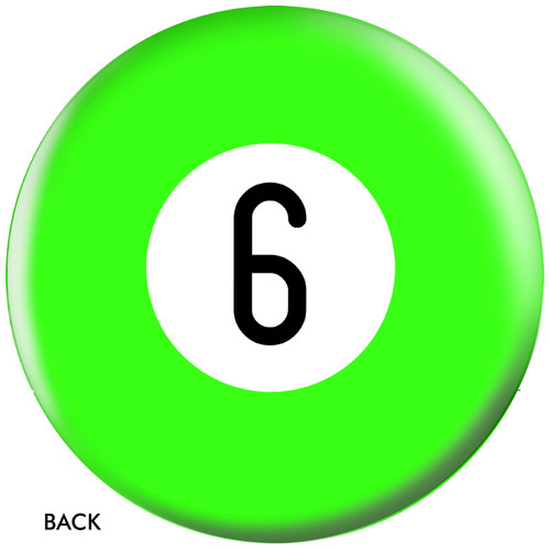 OTBB 6 Ball Green Bowling Ball