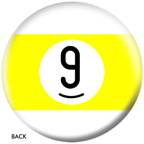 OTBB 9 Ball Yellow Stripe Bowling Ball