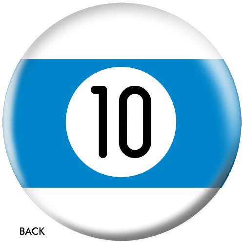 OTBB 10 Ball Blue Stripe Bowling Ball