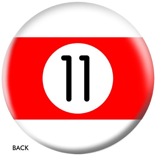 OTBB 11 Ball Red Stripe Bowling Ball