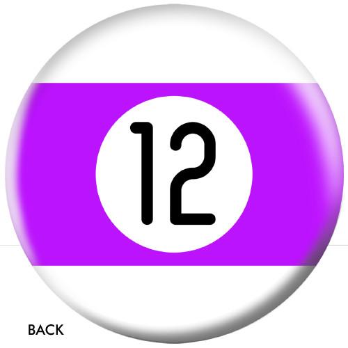 OTBB 12 Ball Purple Stripe Bowling Ball