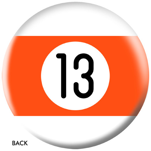 OTBB 13 Ball Orange Stripe Bowling Ball
