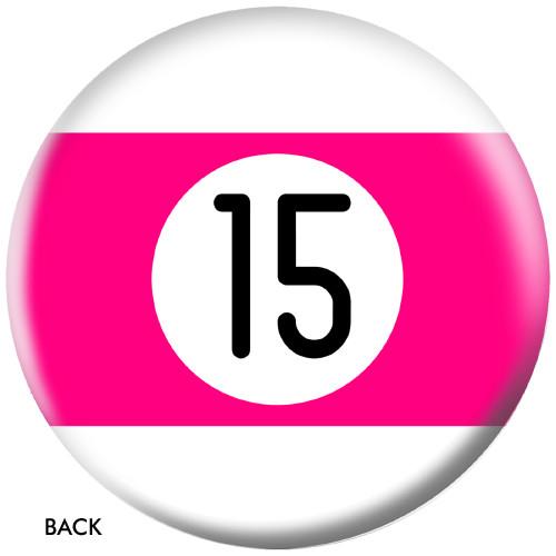 OTBB 15 Ball Pink Stripe Bowling Ball